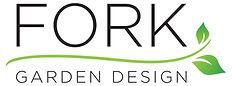 Fork garden design logo