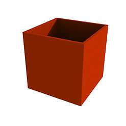 Red Powder Coated Planter.jpg