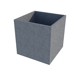 Galvanised Cube Planter.jpg