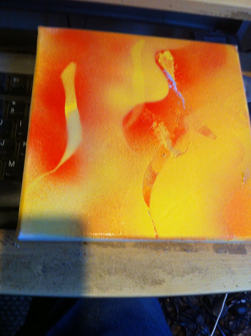 2 BOX Canvas Artworks. Abstracts.