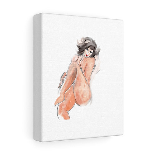 Nude Woman, DIGITAL SKETCH....Stretched canvas.