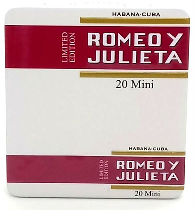 Romeo y Julieta Mini 20 Edición Limitada