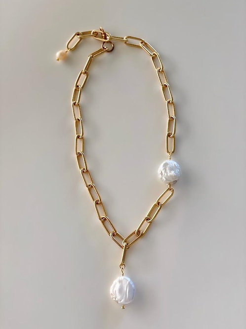 Collar Geral Perlas barrocas