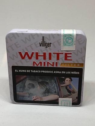 Mini Villiger  white x 20