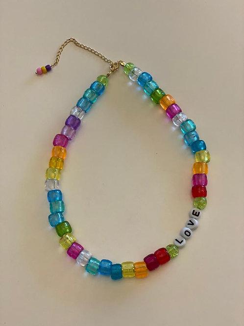 Collar Geral tubitos colores!!