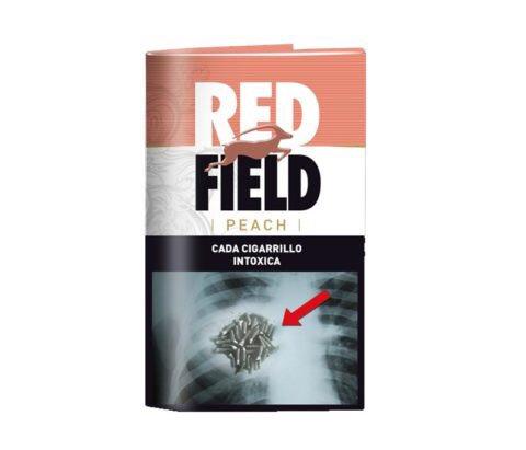 Red field peach durazno