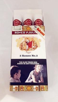 Romeo y Julieta- N°3 tubo x3