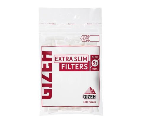 Filtros Gizeh extra slim 5,3 mm blanco