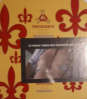 Montecristo Club x20 Edición Limitada
