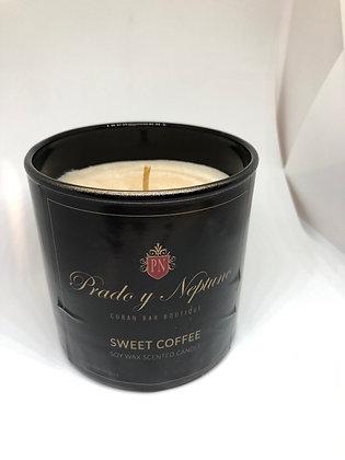 Vela soja sweet coffe