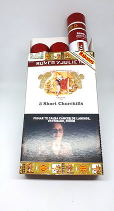 Romeo y Julieta-  Short Churchill tubo