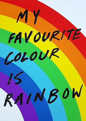My Favourite Colour Is Rainbow (Special Edition)
