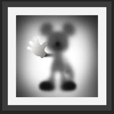 Gone Mickey (Silver)