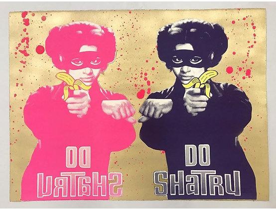 Do Shatru (Two Enemies) - Pink