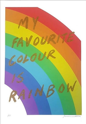 My Favourite Colour Is Rainbow (Gold)