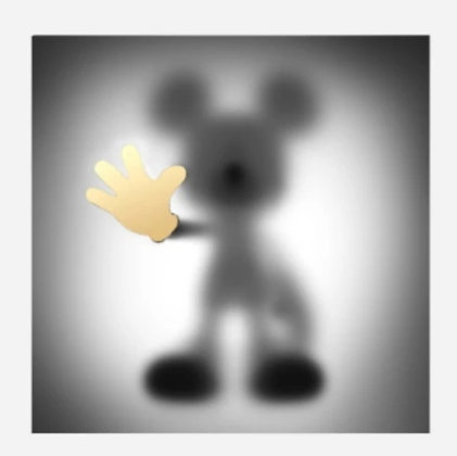 Gone Mickey (Gold)