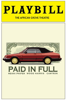 Playbill: Paid In Full