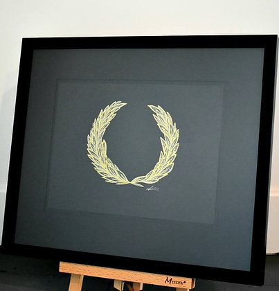 Stay Humble (Laurel Wreath)
