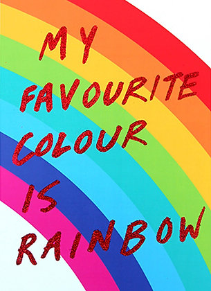 My Favourite Colour Is Rainbow (Red)