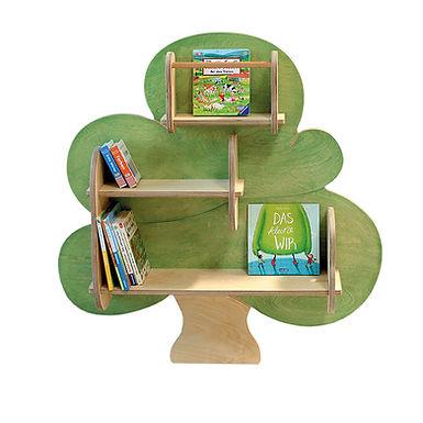 Mahalinchen, Bücherbaum Regal