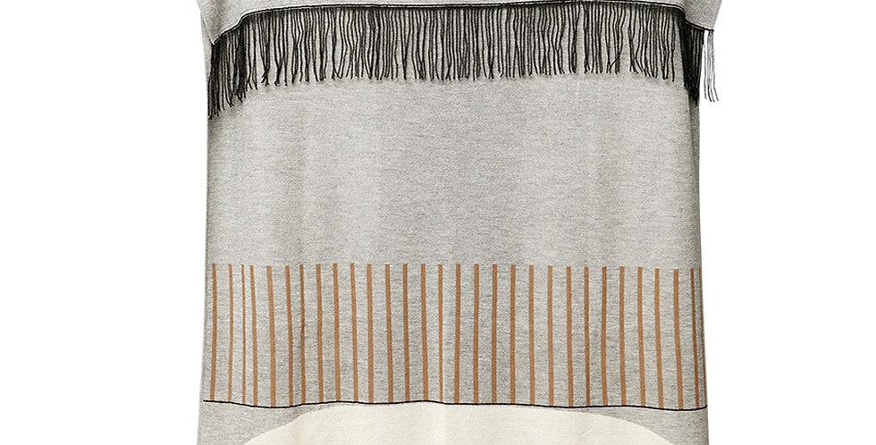 Form & Refine, Aymara Plaid PatternGrey