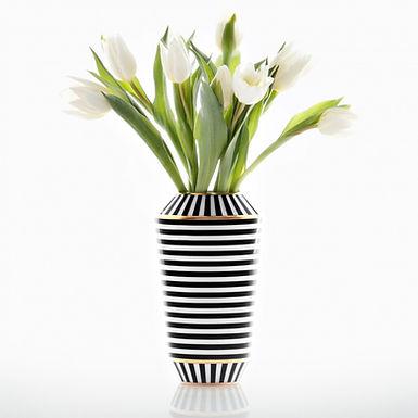 Sieger by Fürstenberg, Luna Vase Drops Groß I