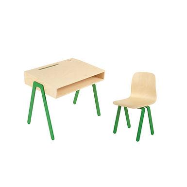 In2Wood, Schreibtisch und Stuhl