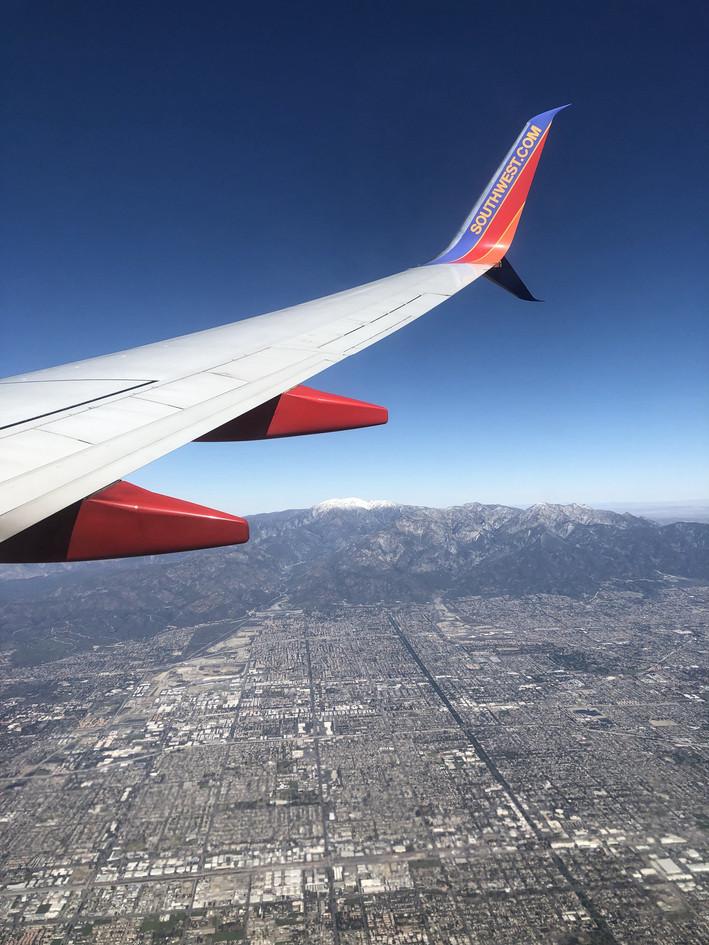 Heading to LA
