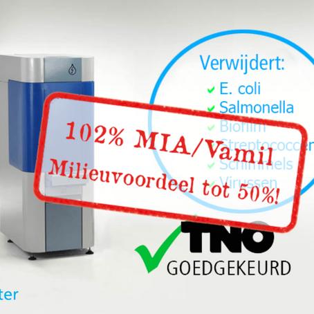 Ook in 2018: 102% MIA/Vamil!