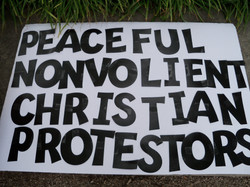 Gun & Homeless Protest Baltimore 5
