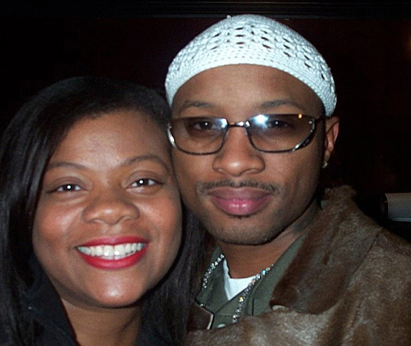 Janice and Nokio of Dru Hill