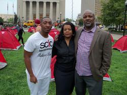 Gun & Homeless Protest Baltimore 3