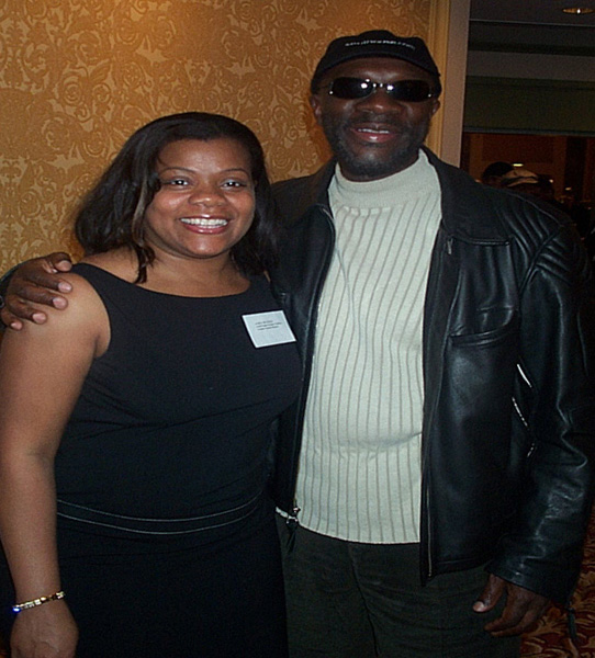 Janice and Isaac Hayes
