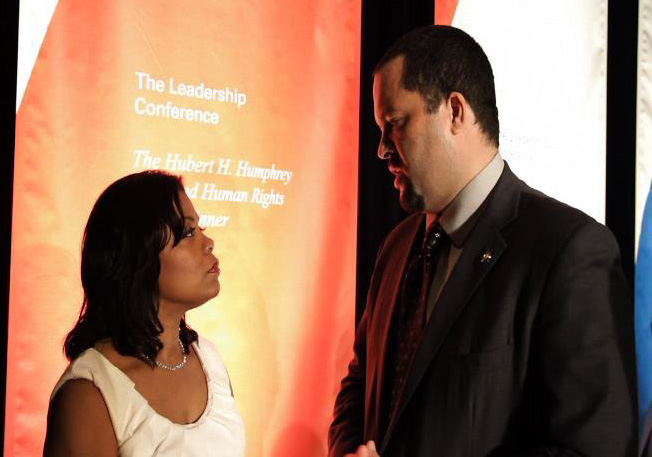 Janice and Ben Jealous-NAACP