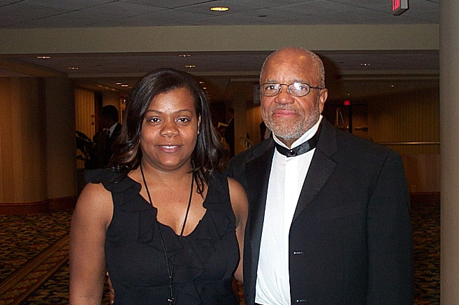 Berry Gordy and Janice