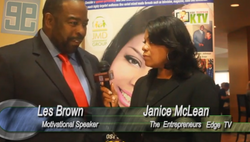 Les Brown and Janice