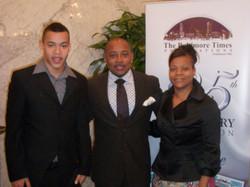 Daymond John, Michael and Janice