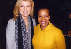 Arianna Huffington and Janice
