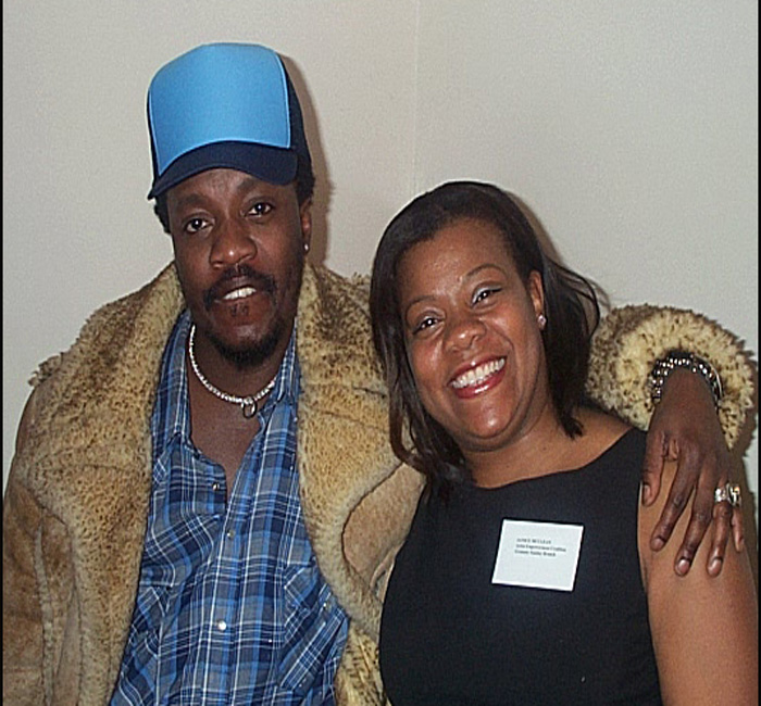 Anthony Hamilton and Janice