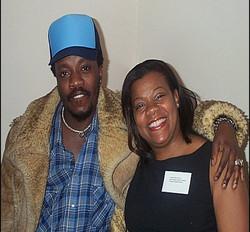 Anthony Hamilton and Janice
