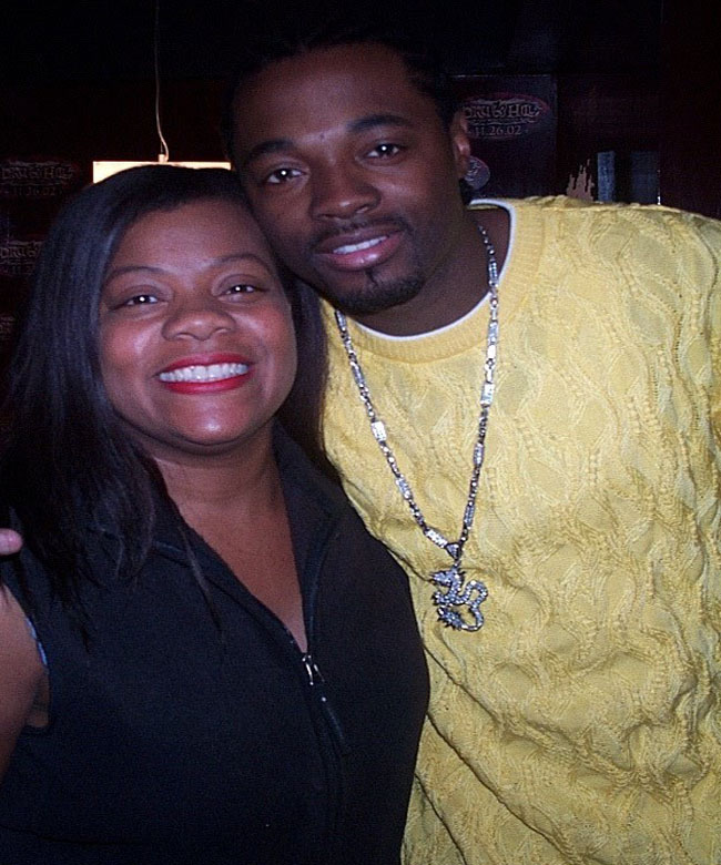 Janice and Ruscola of Dru Hill