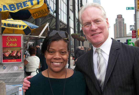 Janice and Tim Gunn