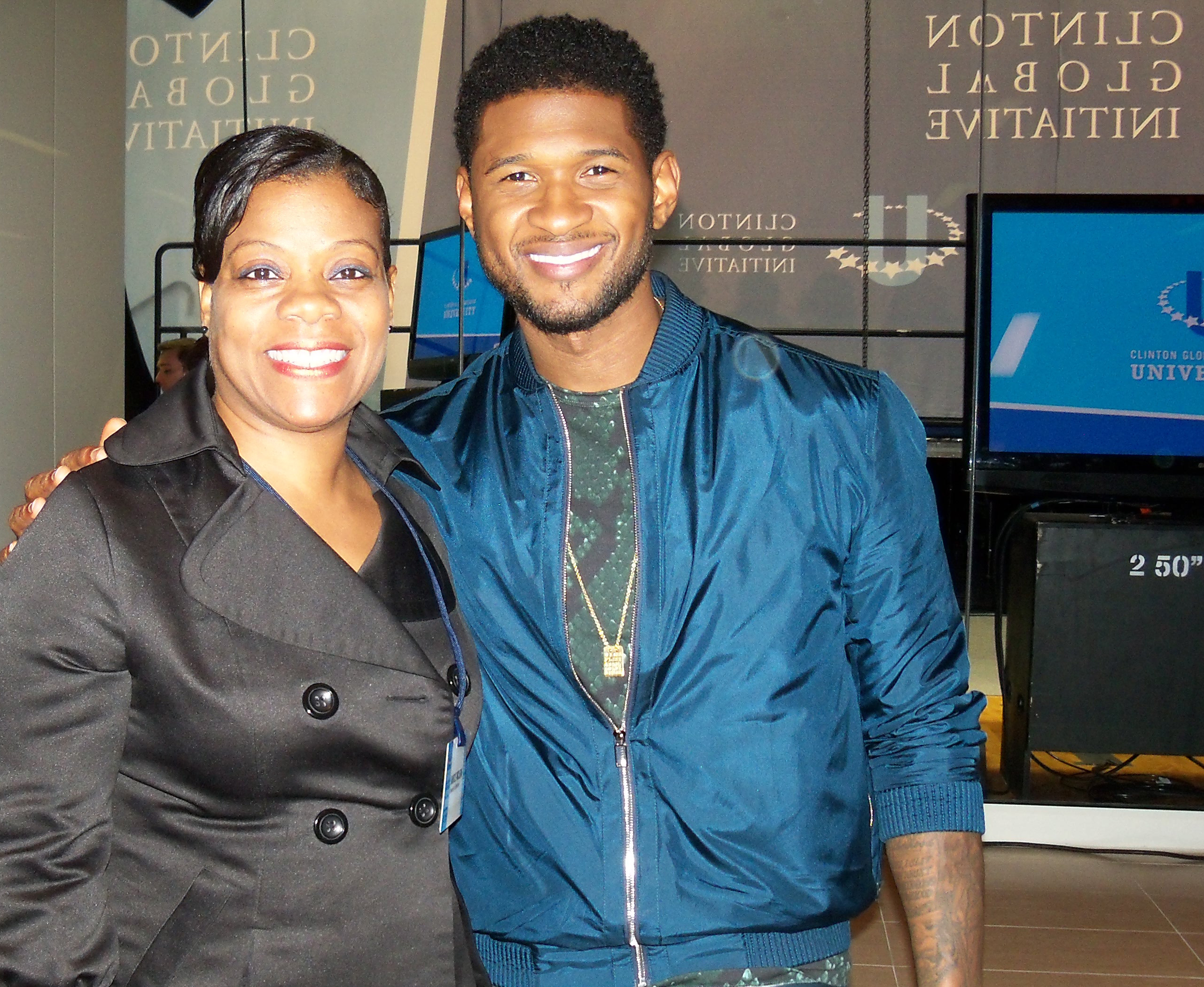 Janice and Usher