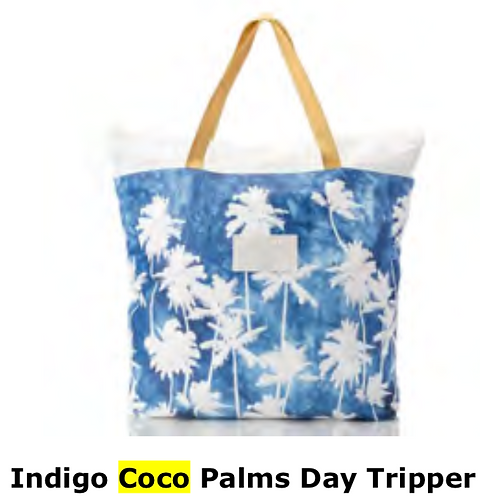 Aloha Collection Coco Day Tripper Tote