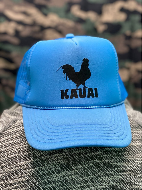 Kauai Chicken Icon Trucker