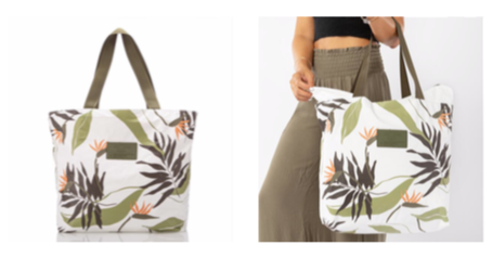 Aloha Collection Painted Birds Day Tripper Tote