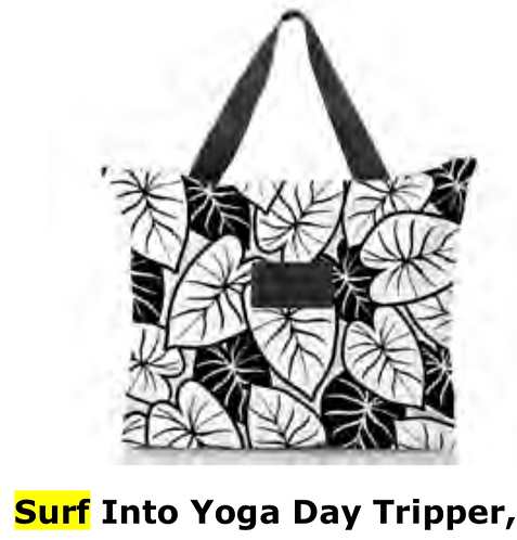 Aloha Collection Surf Into Yoga Day Tripper Tote