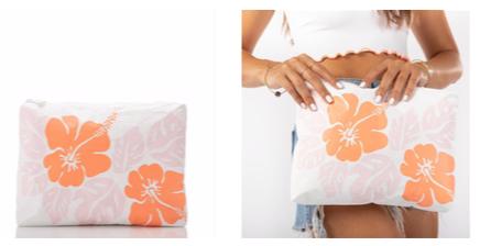 Aloha Collection Big Island Hibiscus Mid-Size Bag