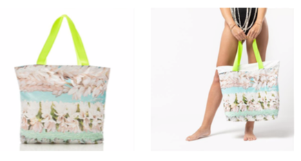 Aloha Collection Tiare Day Tripper Tote