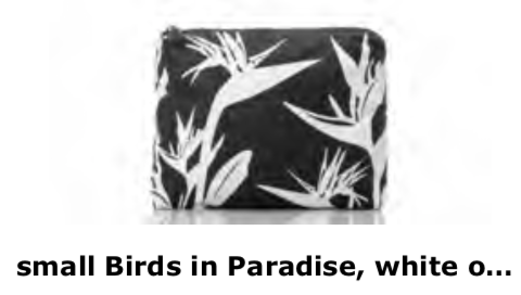 Aloha Collection Birds Of Paradise Small Bag
